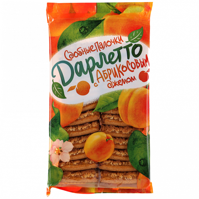 "Rich sticks ""Darletto"" with apricot jam (pack)"