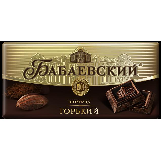 "Chocolate ""Babaevskiy Bitter"""