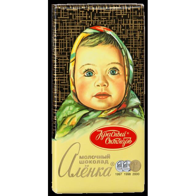 "Milk chocolate ""Alyonka"""