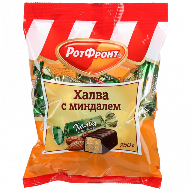 Halva with almonds (pack)