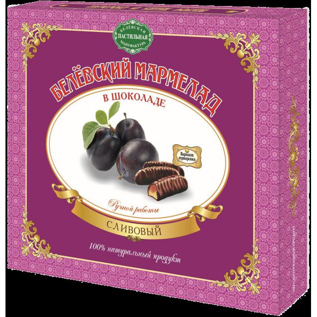 "Belevskiy marmalade ""Plum In Chocolate"" - hand made (box)"